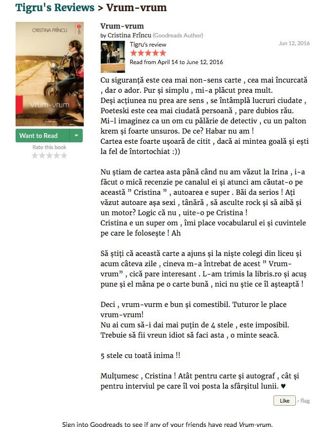 review tigru